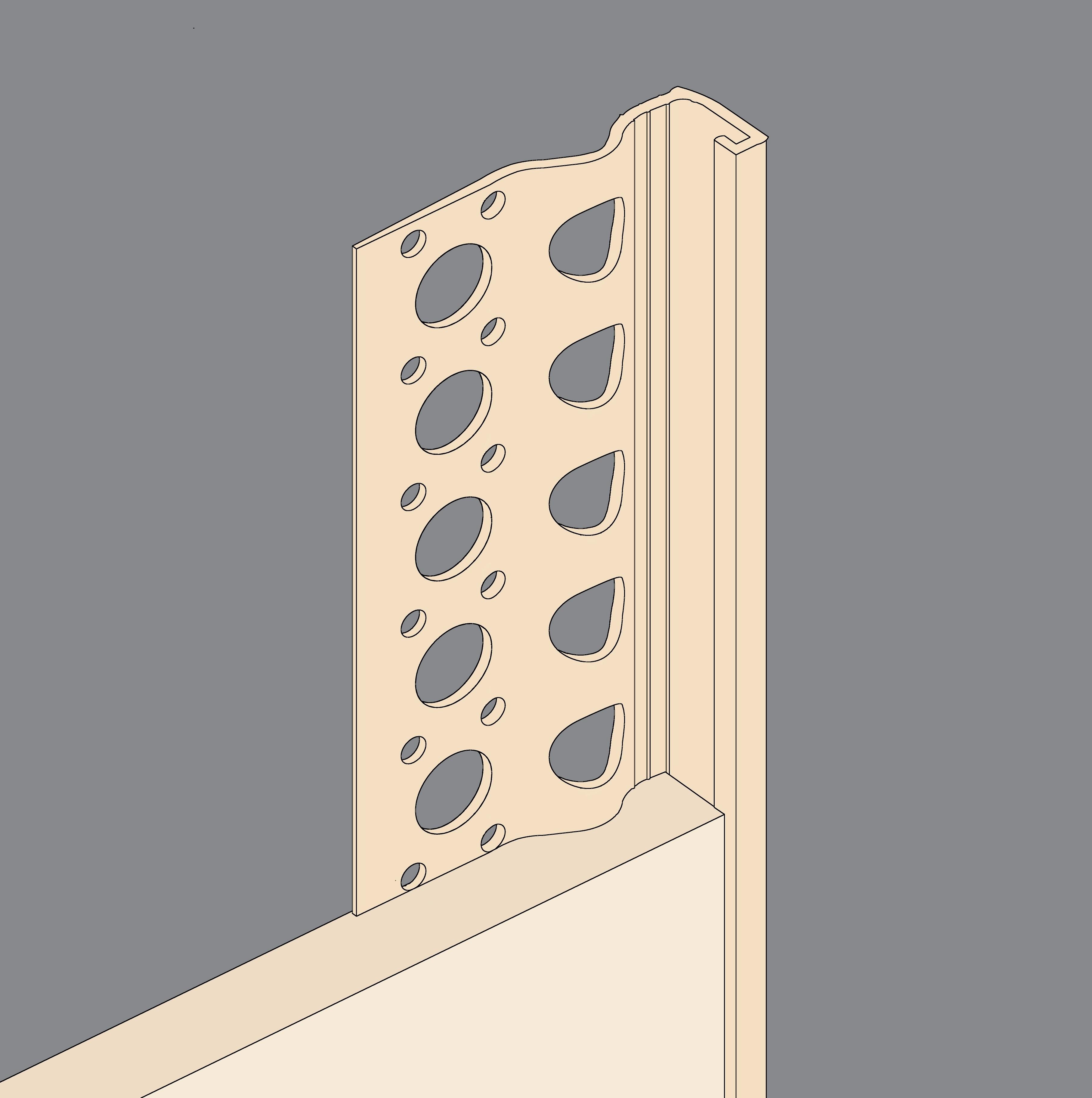 Oatmeal PVCu Stopbeads