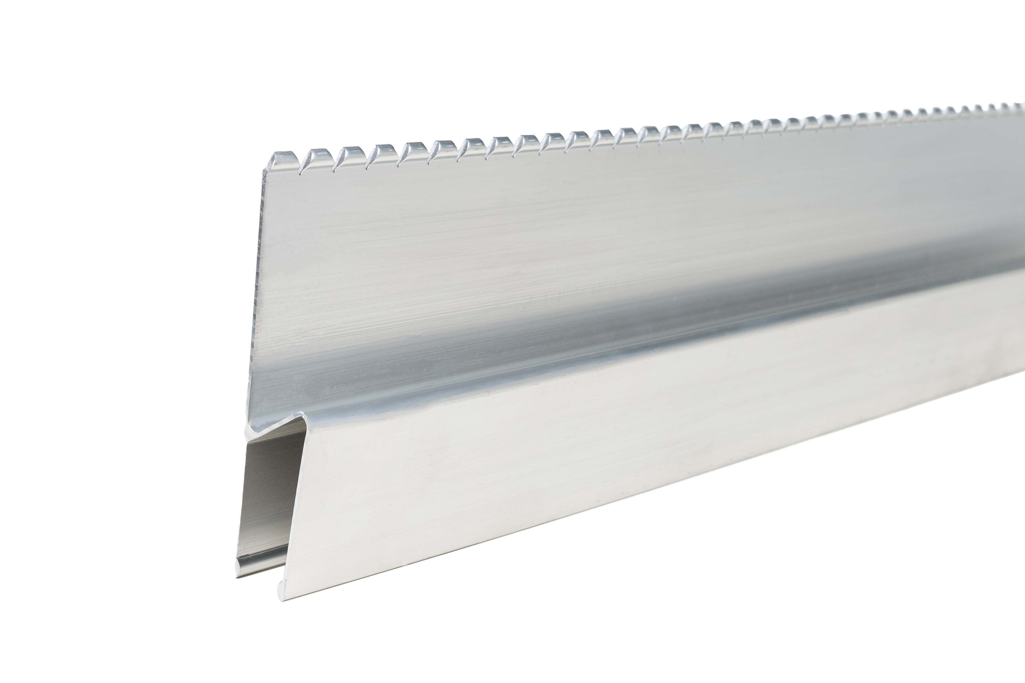1.2mtr Serrated Feather Edge Rule H Section