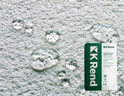 K-Rend K1 Silicone Scraped Topcoat (K-Rend)